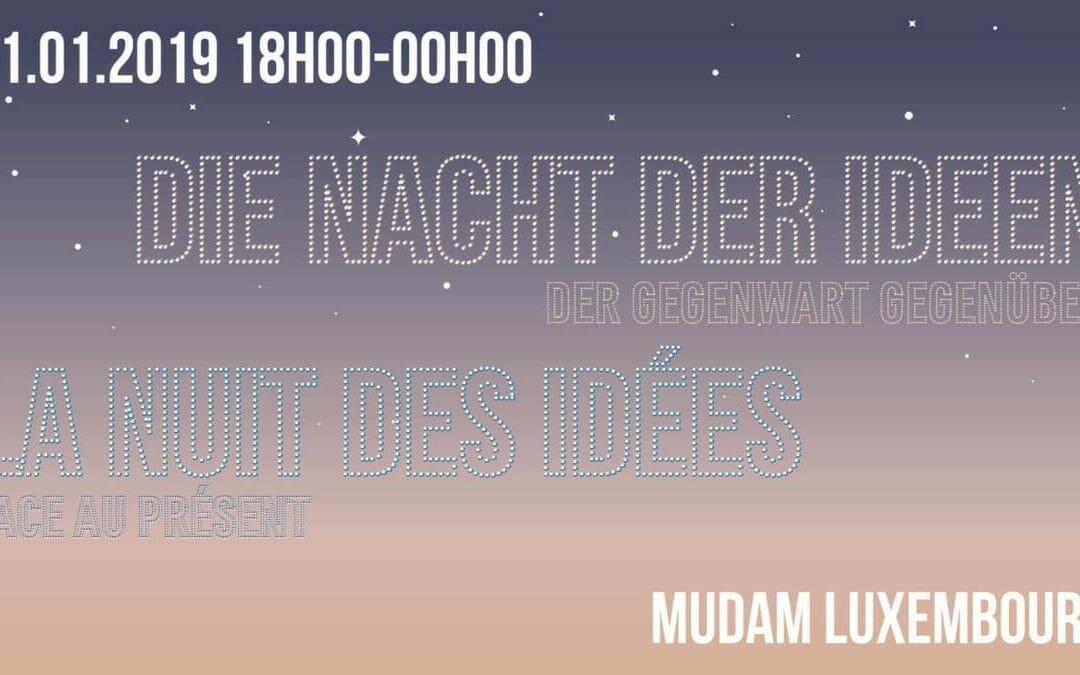 La Nuit des Idées – Face au présent