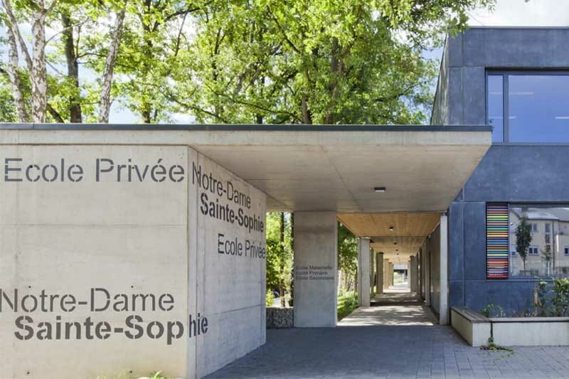 écoles françaises au Luxembourg - École privée Notre Dame-Sainte-Sophie