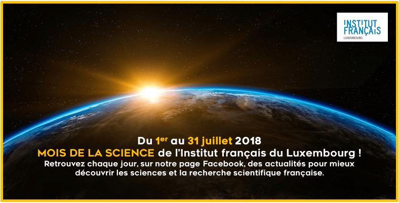 Mois de la Science de l'Institut français du Luxembourg