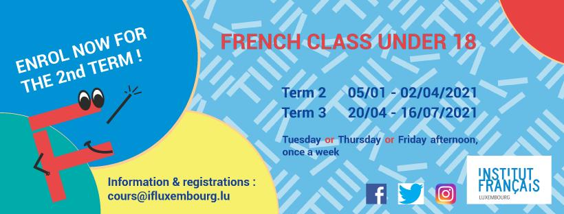 French workshops for children – registration for Term 2