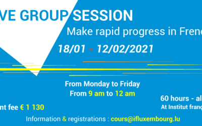 18/01 – 12/02/2021 – Intensive session