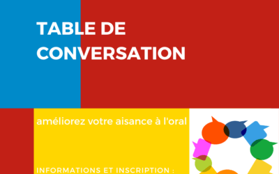Table de Conversation