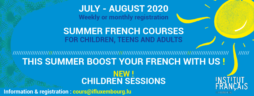 Summer French Courses 2020