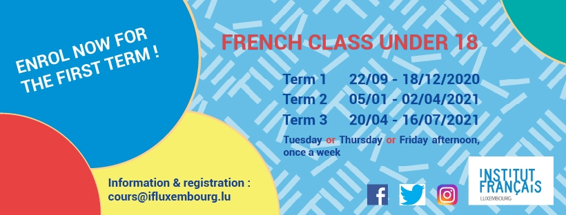 French workshops for children – registration for Term 2