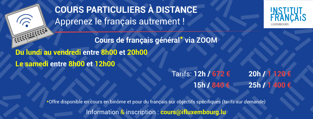 COURS PARTICULIERS A DISTANCE
