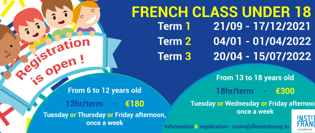 1st term 21/09 – 17/12/2021 / Group workshops for kids & teens
