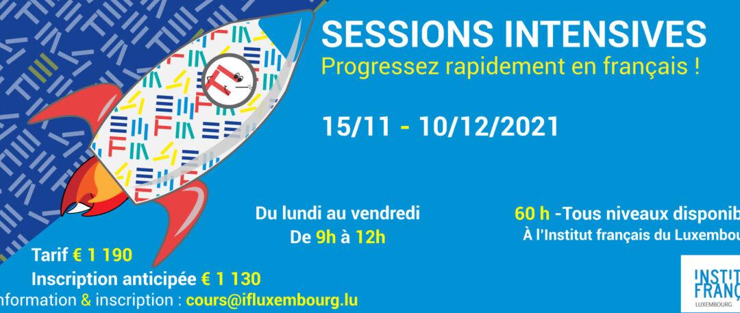 15/11 -10/12/2021 / Cours de français collectifs intensifs