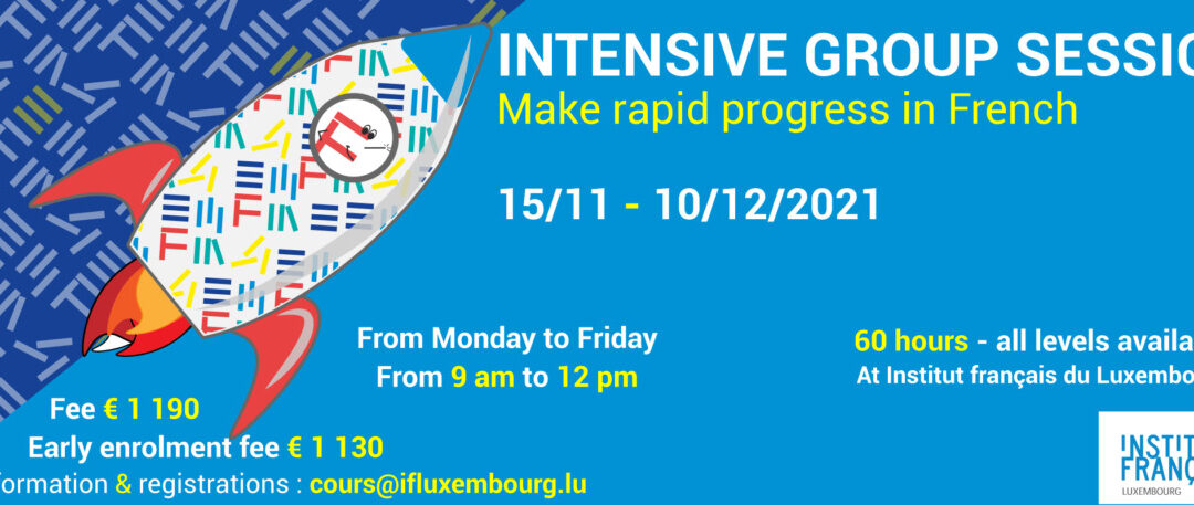 15/11 – 10/12/2021 / Intensive sessions